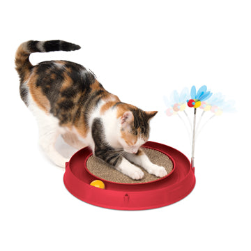 CATIT Play Scratch Pad, Bee and Ball