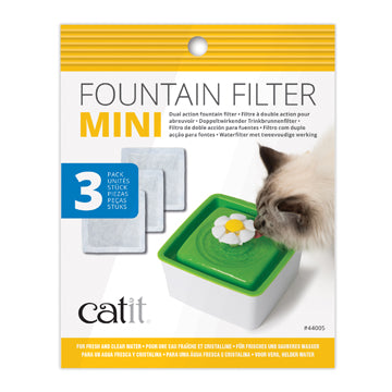 CATIT Mini Fountain Filters, 3-pack