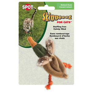 SPOT ETHICAL PET PRODUCTS Skinneeez Barnyard Creature Catnip Duck