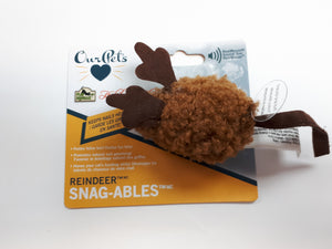 OUR PET'S Holiday Snag-ables Reindeer Mouse