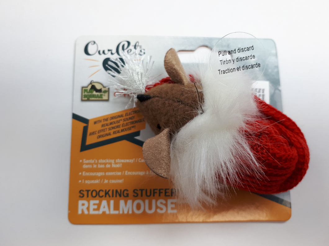 OUR PET'S Holiday Stocking Stuffer RealMouse