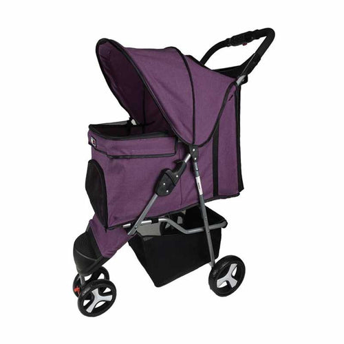 DOGLINE Pet Stroller, purple