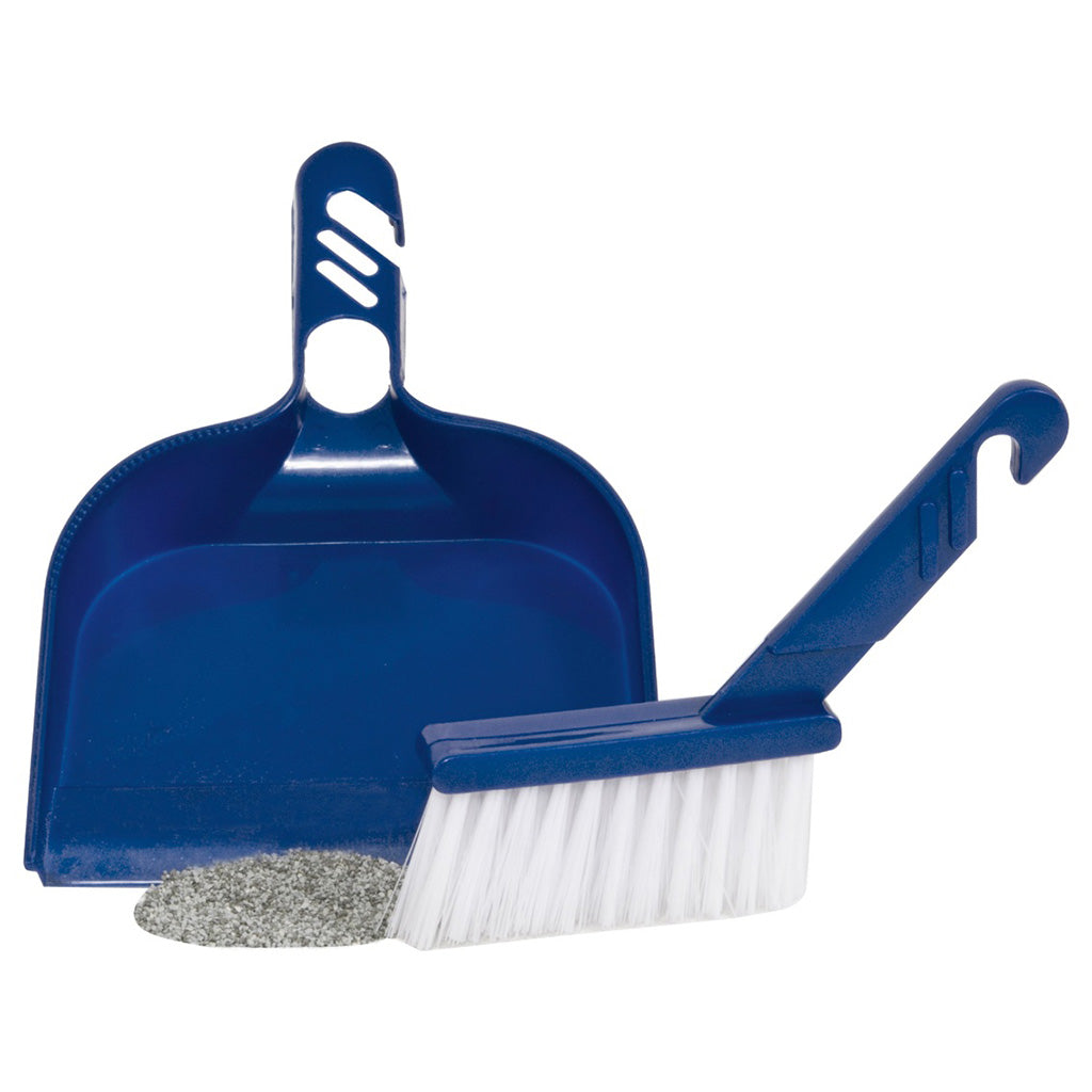 PETMATE Litter Sweeper Planet Blue