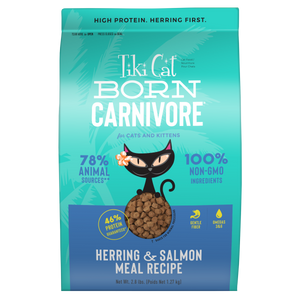 TIKI CAT Born Carnivore Herring & Salmon, 1.27kg