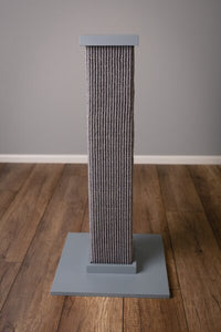 "SMART CAT Ultimate Scratching Post Grey, 16'x16""x32"""
