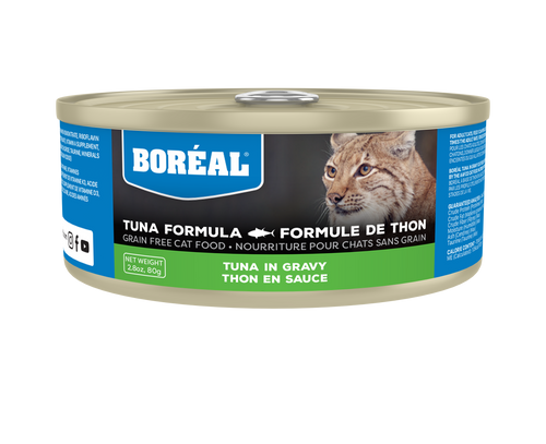 BOREAL Red Meat Tuna in Gravy, 156g