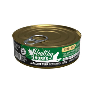HEALTHY SHORES Albacore Tuna Minced, 100g