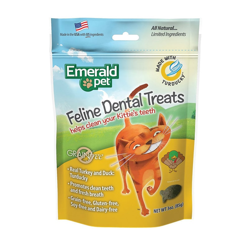 EMERALD PET Dental Treat Turducky, 3oz
