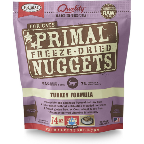 PRIMAL Freeze-Dried Turkey Formula, 14oz