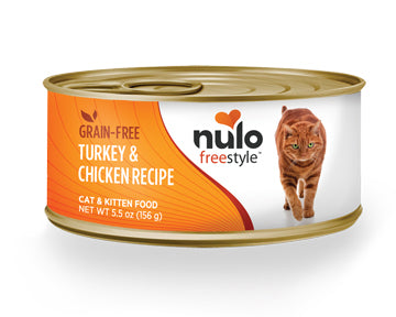 NULO Freestyle Grain-Free Turkey & Chicken Recipe, 156g
