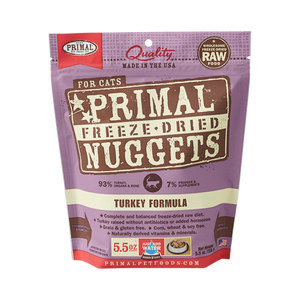 PRIMAL Freeze-Dried Turkey Formula, 5.5oz