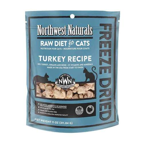 NORTHWEST NATURALS Freeze Dried Turkey Recipe, 4oz