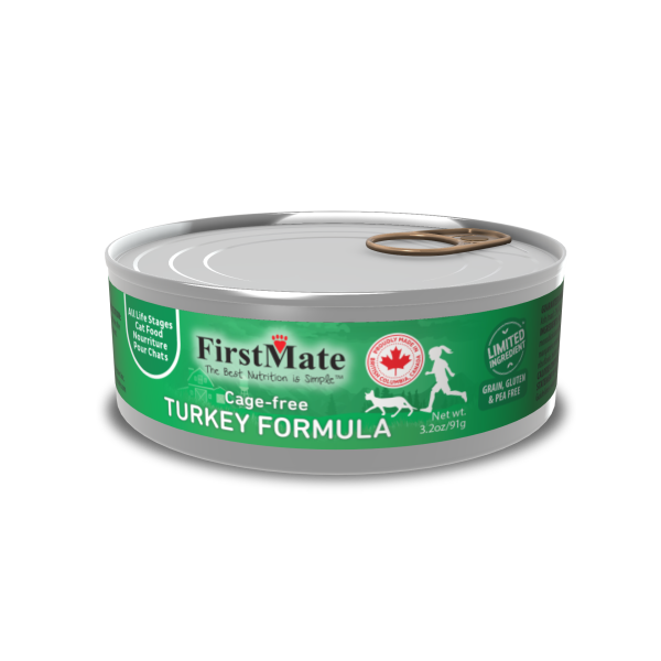 FIRSTMATE Cage-Free Turkey, 91g
