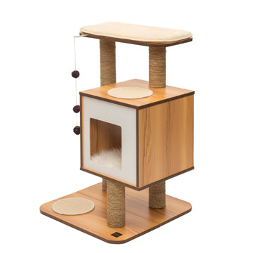 CATIT Vesper V-Base, Walnut