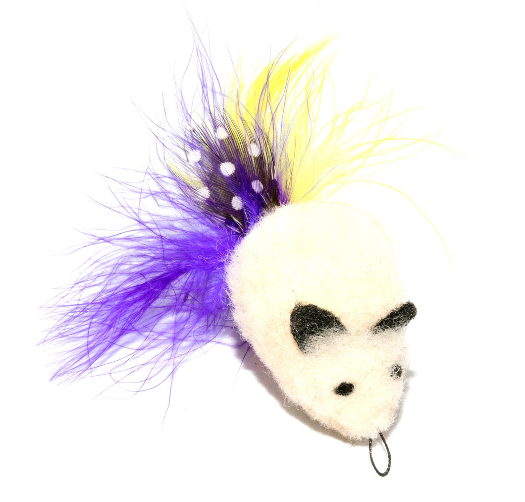 GO CAT Da Wooly Feather Mouse Attachment