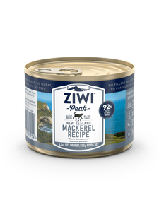 ZIWI PEAK New Zealand Mackerel Recipe, 185g