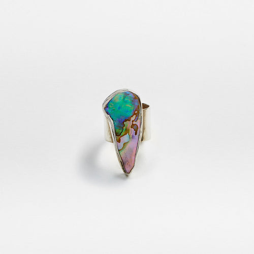 Abalone Ring No. 7