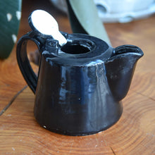 Load image into Gallery viewer, Black Teapot