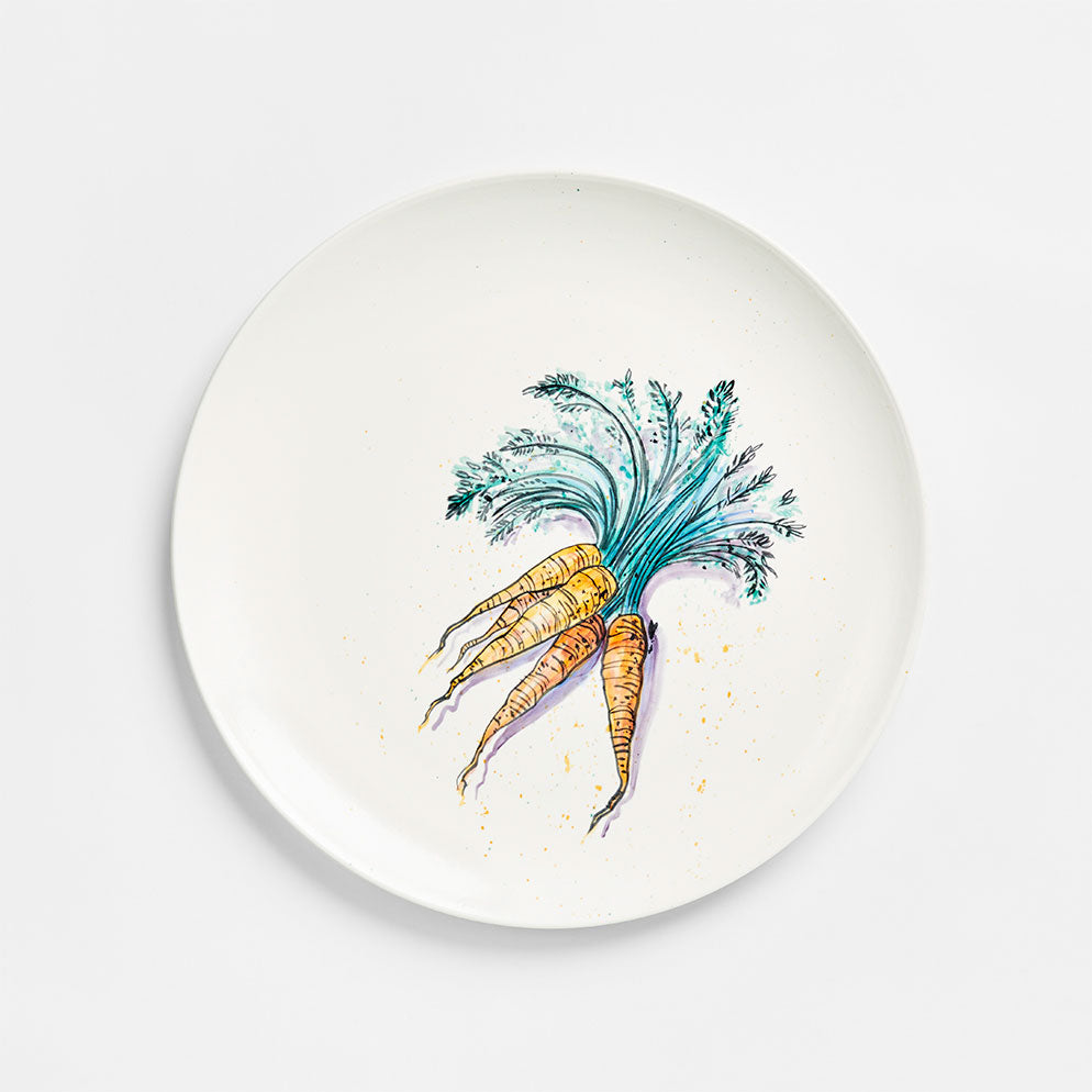 Carrot Plate 13""