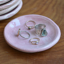 Load image into Gallery viewer, Mini Pink Ceramic Plate