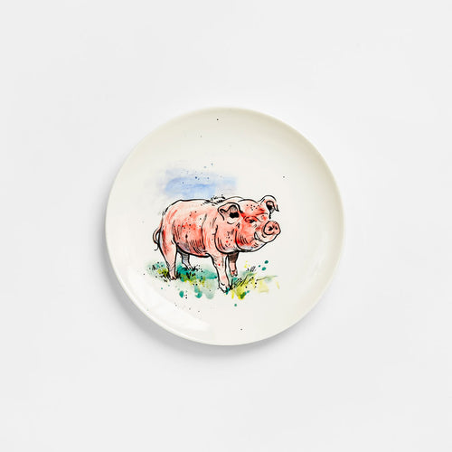 Pig Plate 10""