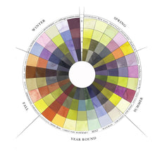 Load image into Gallery viewer, The Seasonal Color Wheel, Sasha Duerr.