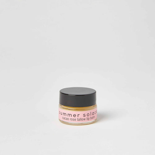 Summer Solace Cacao Rose Tallow Lip Balm