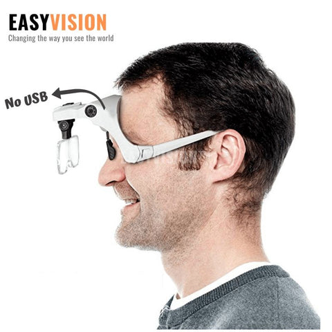 EASYVISION™️ Illuminated Head Magnifier