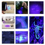 LED UV Flashlight Torch - HipHawker