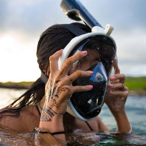 SnorkelPro™️ Full-Face Mask
