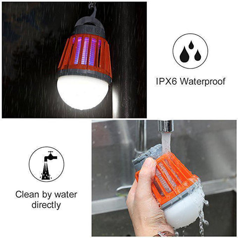 USB Charging Waterproof Mosquito Zapper Camping Lantern - HipHawker