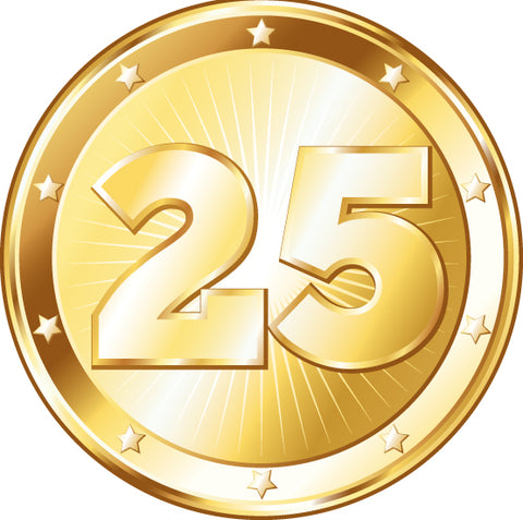 Celebrating 25 years of excellence!