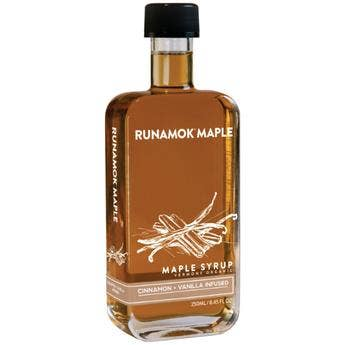 Cinnamon + Vanilla Infused Maple Syrup 250ml