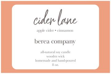 Berea Candle - Cider Lane