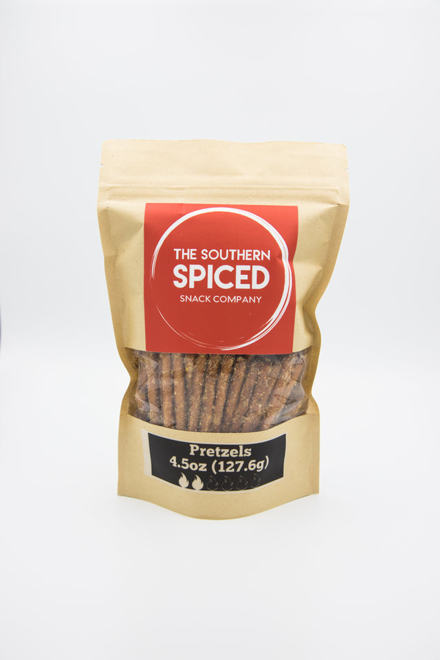 The Southern Spiced Snacks - Pretzels