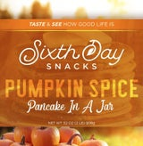 Sixth Day Snacks - Pumpkin Spice Pancake in a Jar