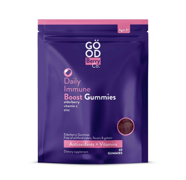 GoodBerryCo - Elderberry Gummies