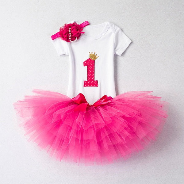 Baby Girls Birthday Outfits Dresses - myswagbaby