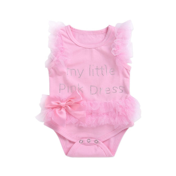 Baby Girls clothes Summer girls dress Bebe my little - myswagbaby