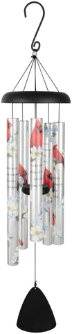 Cardinals Appear Wind Chimes