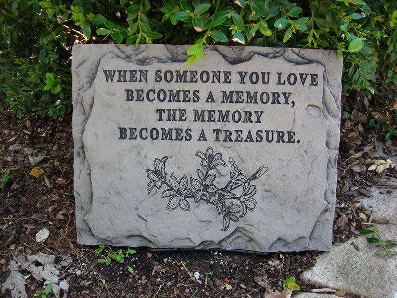 When Someone You Love... Medium Memorial Stone