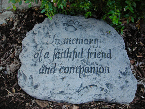 In Memory of... Large Memorial Stone