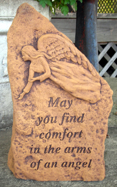 May You Find Comfort... Large Memorial Stone