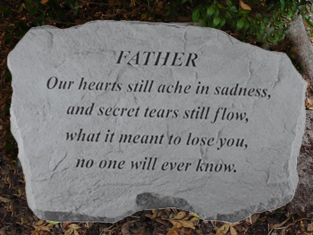 Father... Large Memorial Stone