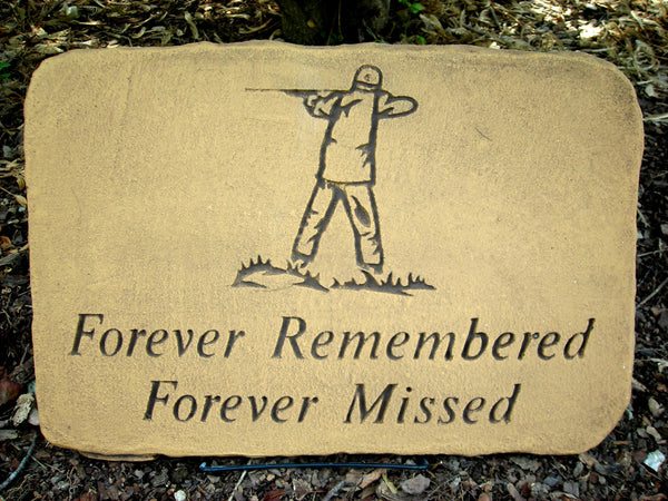 Forever Remembered... Large Memorial Stone