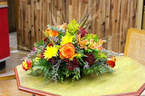 Deluxe Fall Harvest Centerpiece