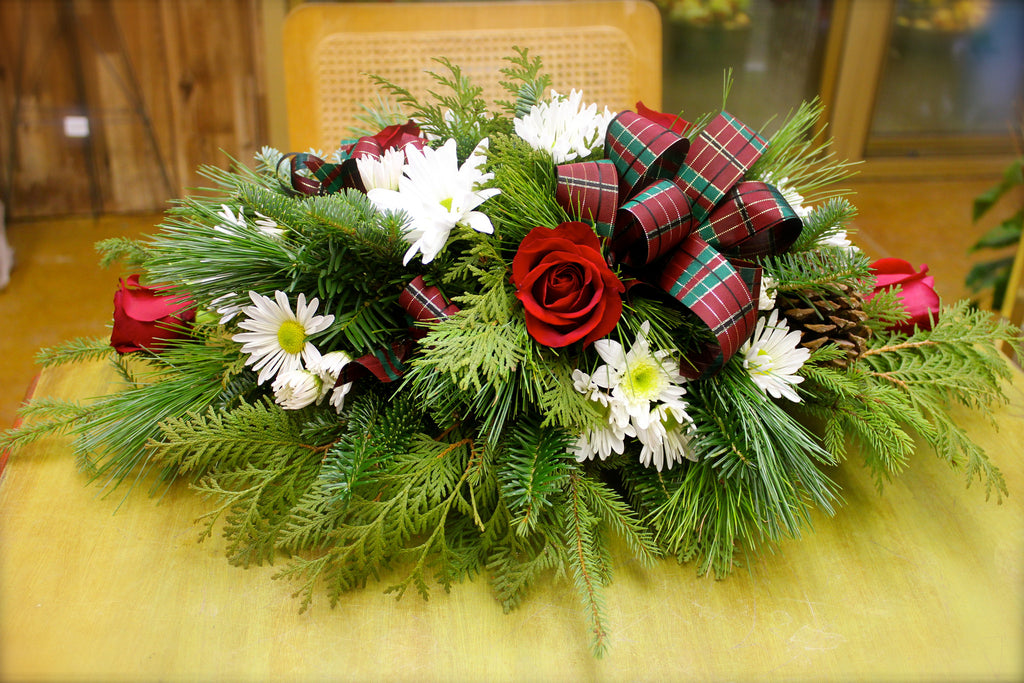 White Pine Holiday Centerpiece