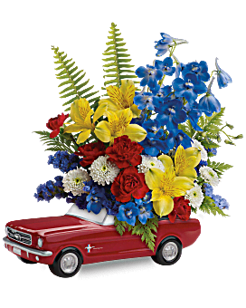 Father's Day Mustang Bouquet