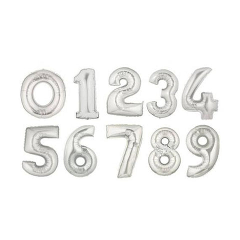 "Giant 40"" Foil Number Balloons (#0-9)"