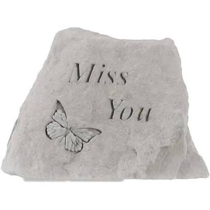Miss You - Small Memorial Stone